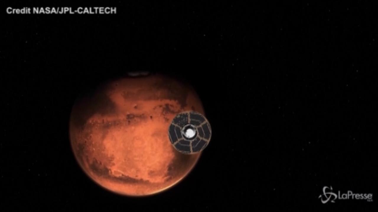 Marte. Rover della Nasa nel cratere Jazero
