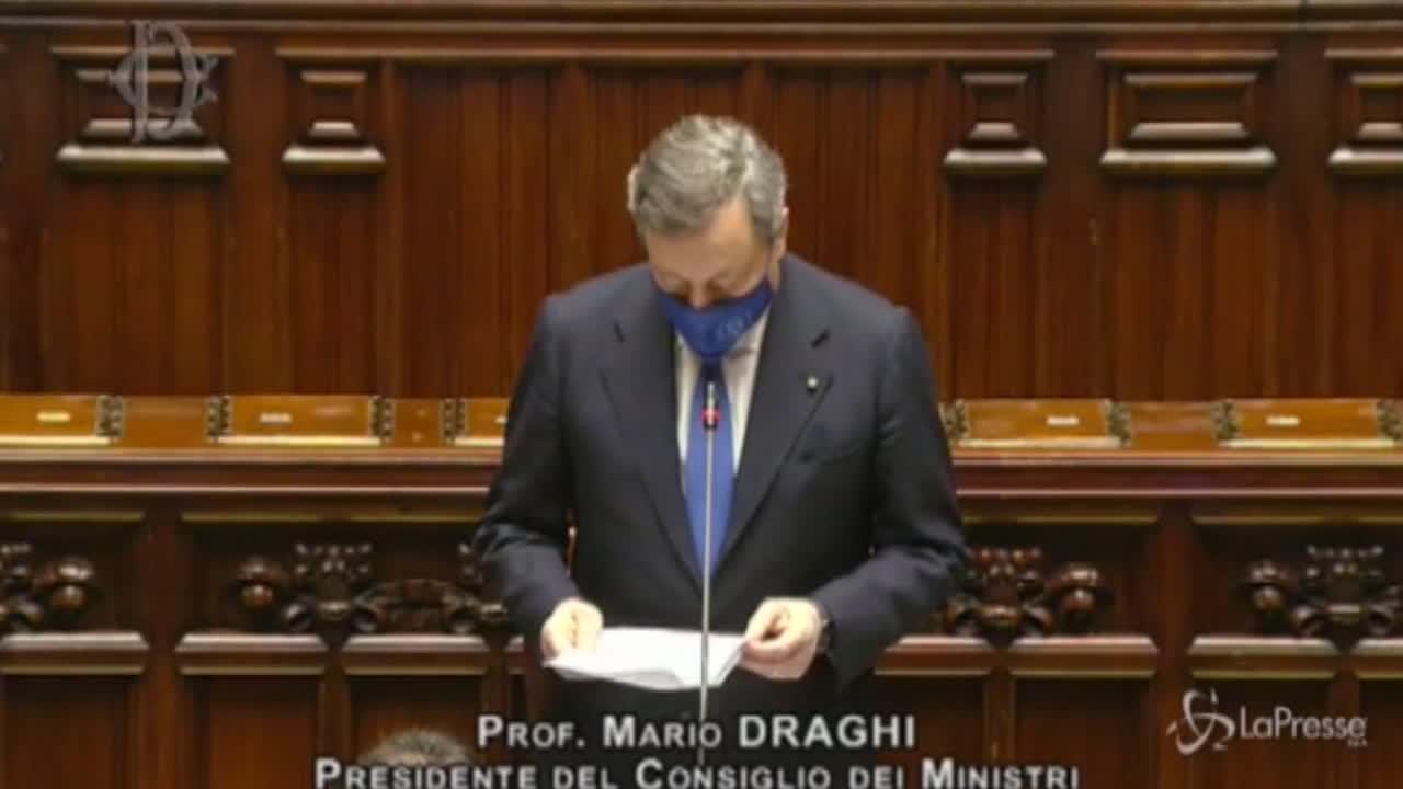 Mario Draghi, Giustizia