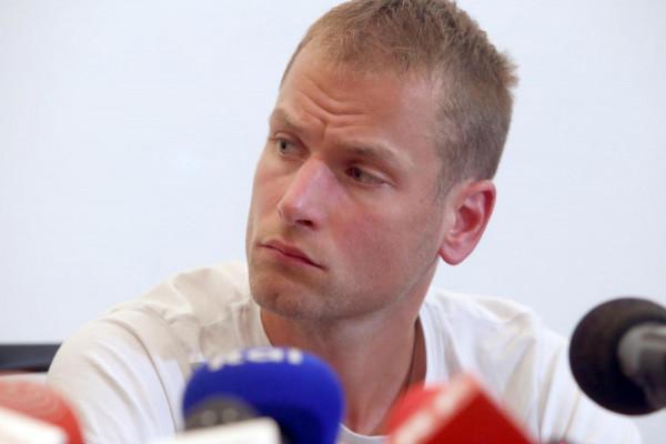 Alex Schwazer, Doping - conferenza stampa a Bolzano