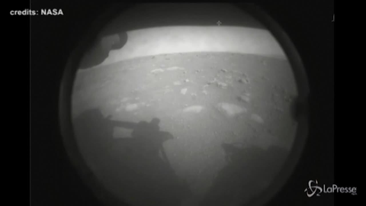 Foto Marte dal rover Perseverance