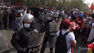 Tensioni a Yangon