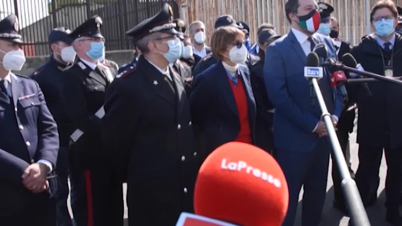 Gregoretti, Salvini