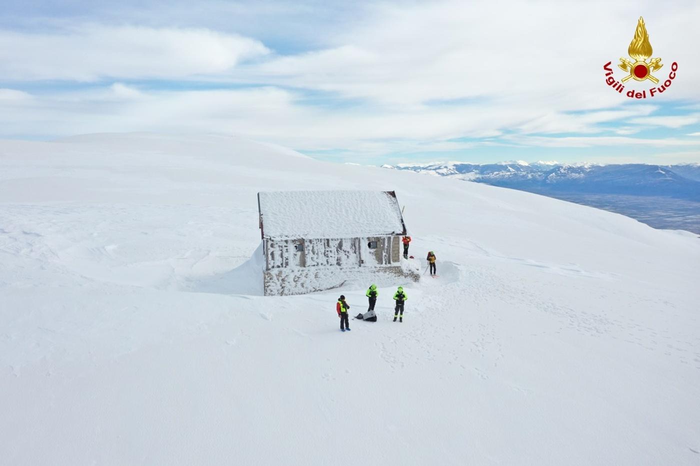 Monte Velino, ricerche escursionisti dispersi