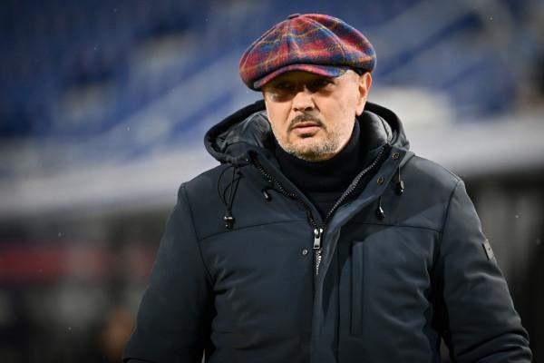 Sinisa Mihajlovic. Bologna vs Benevento - Serie A TIM 2020/2021