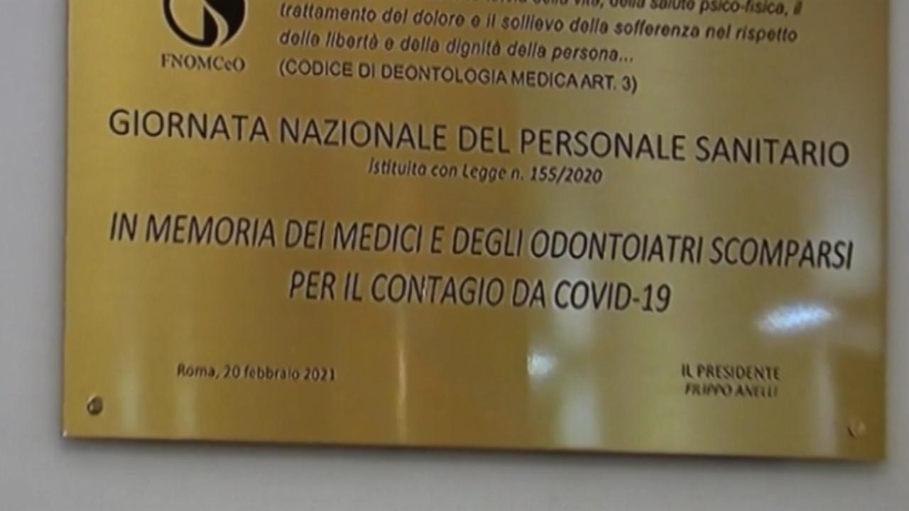 Ricordo dei medici che hanno perso la vita per il coronavirus