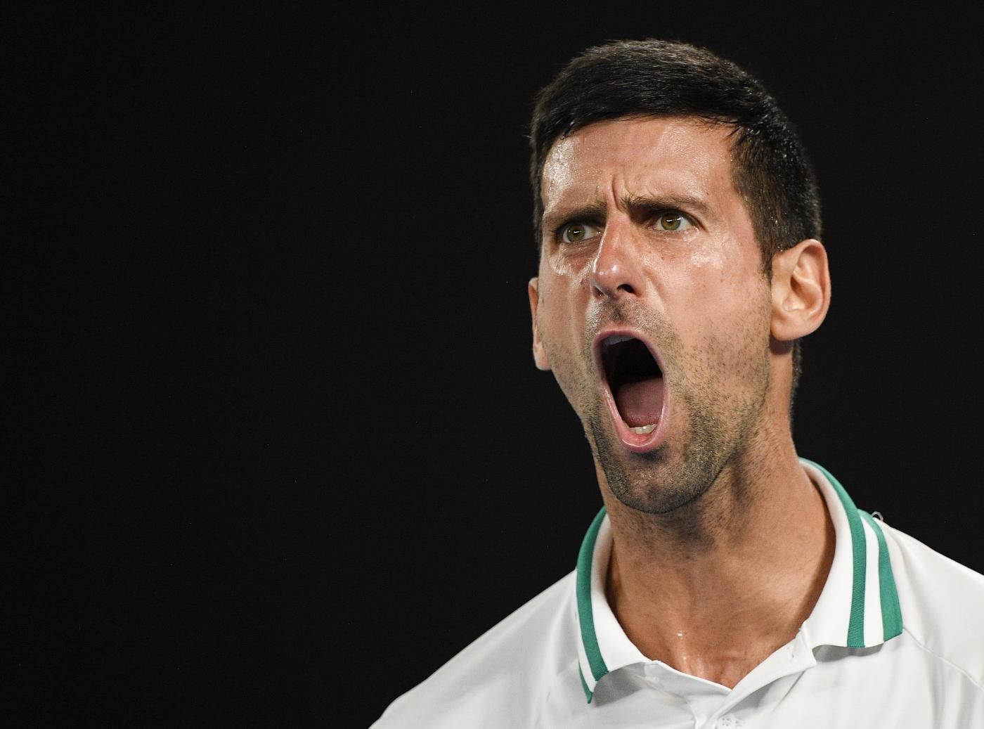 Tennis, Djokovic vs Karatsev - Semifinale - Australian Open 2021