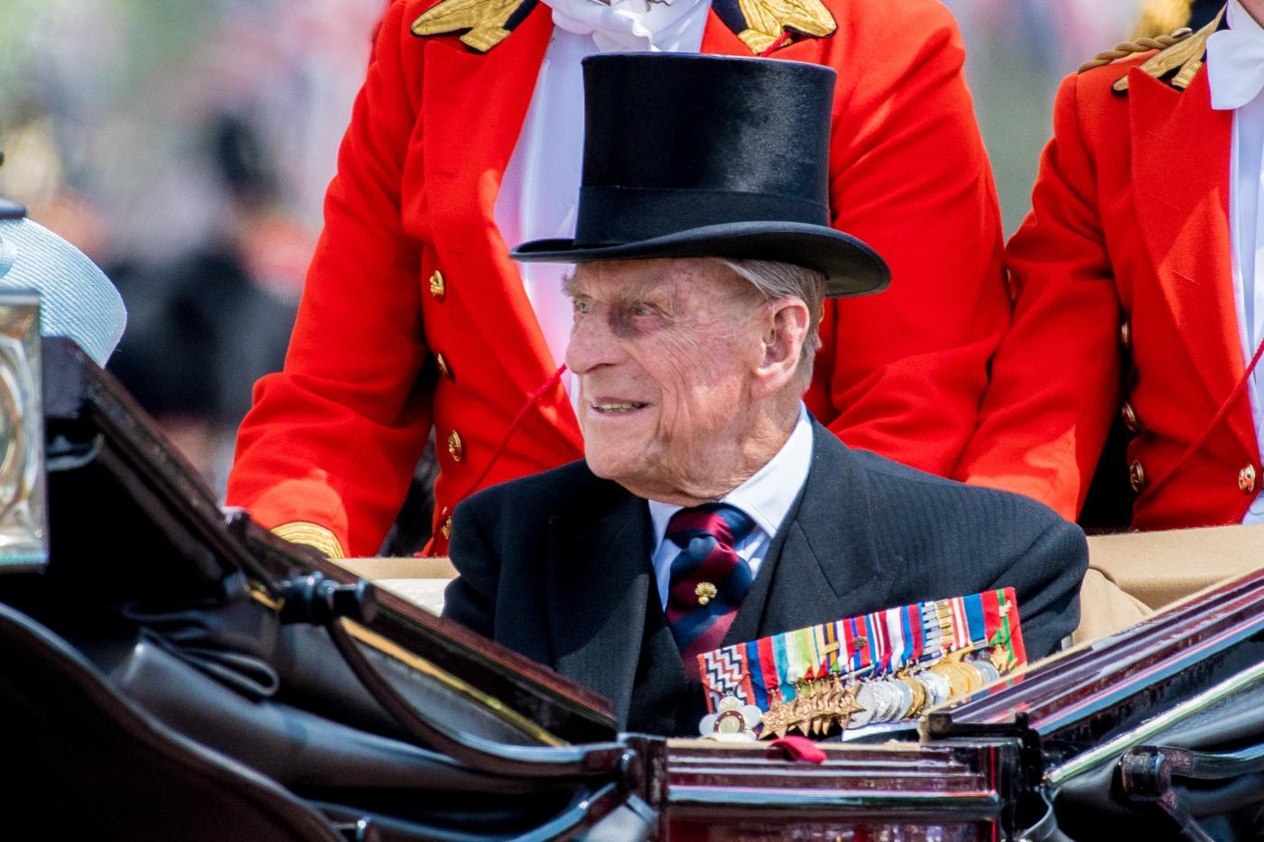 Il principe Filippo ricoverato in ospedale a Londra