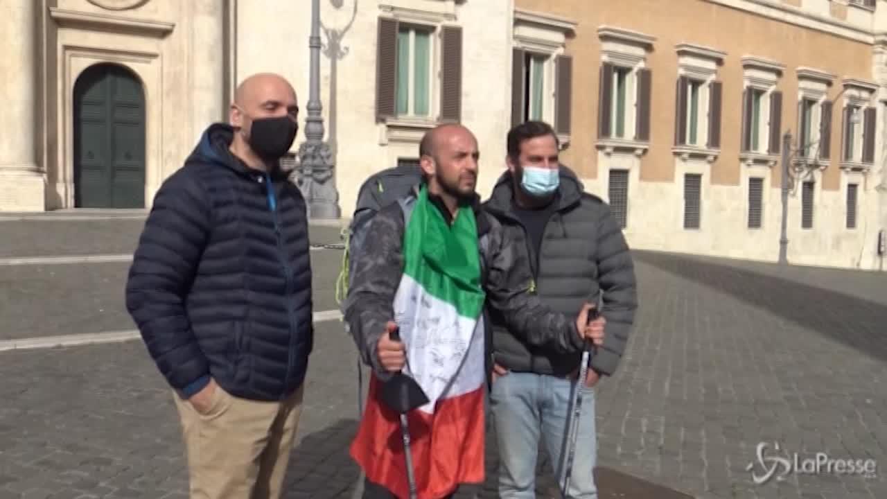 A piedi da Genova a Roma
