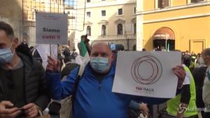 Protesta ristoratori e guide turistiche