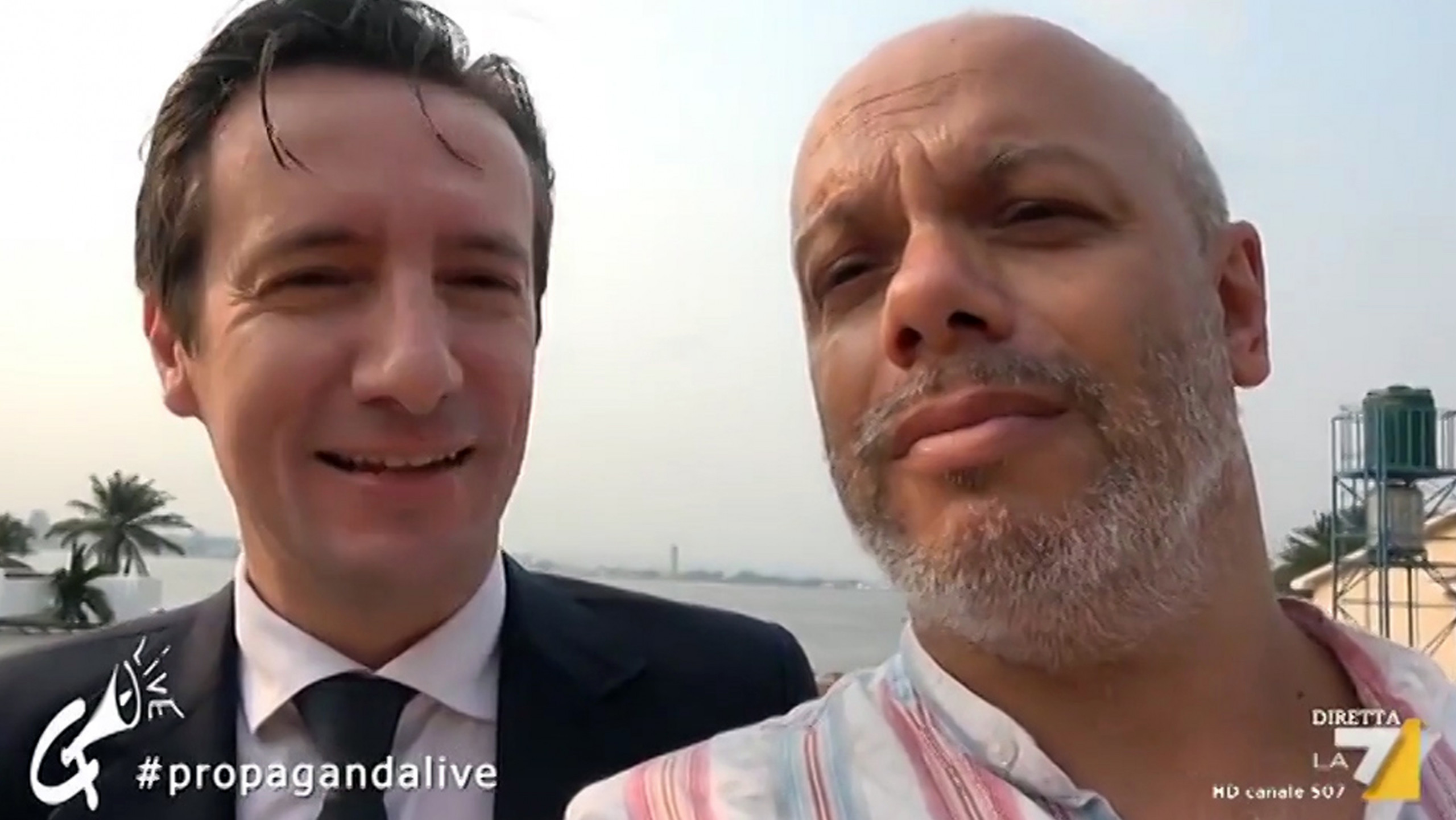 Luca Attanasio intervistato a Propaganda Live La7