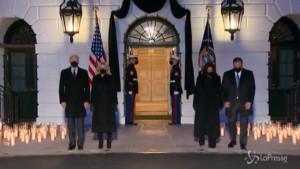 La Casa Bianca onora le vittime di Coronavirus