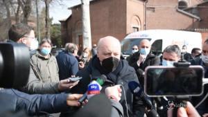 Marotta ai Funerali Bellugi a Milano