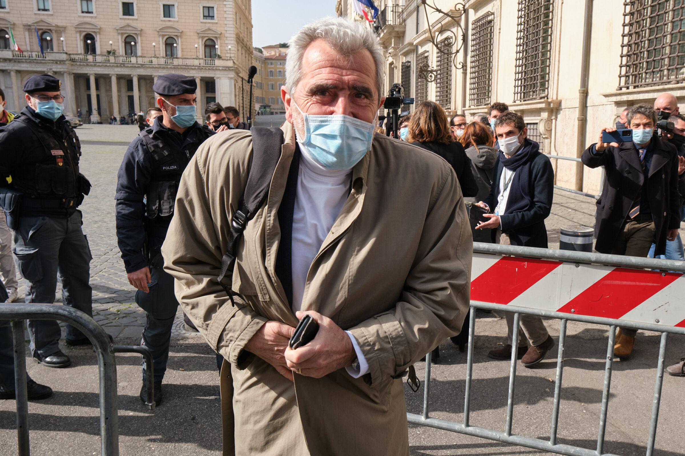 Agostino Miozzo, coordinatore del Comitato Tecnico Scientifico, a palazzo Chigi