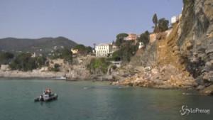 Bare in mare a Camogli
