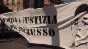 Ugo Russo foto striscione