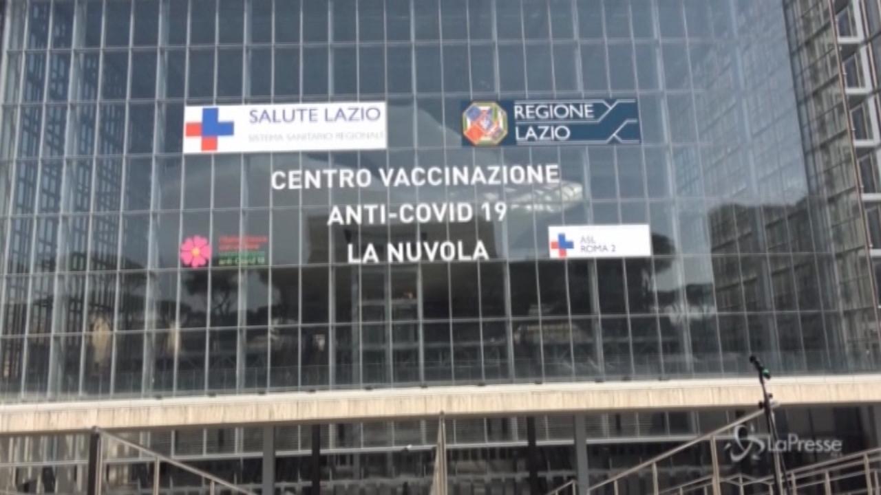 Nuvola di Fuksas all'Eur nasce il grande hub per le vaccinazioni Covid
