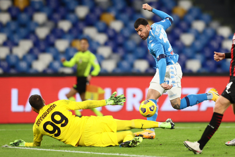 Gianluigi Donnarumma (AC Milan) Sassuolo vs Milan - Serie A TIM 2019/2020