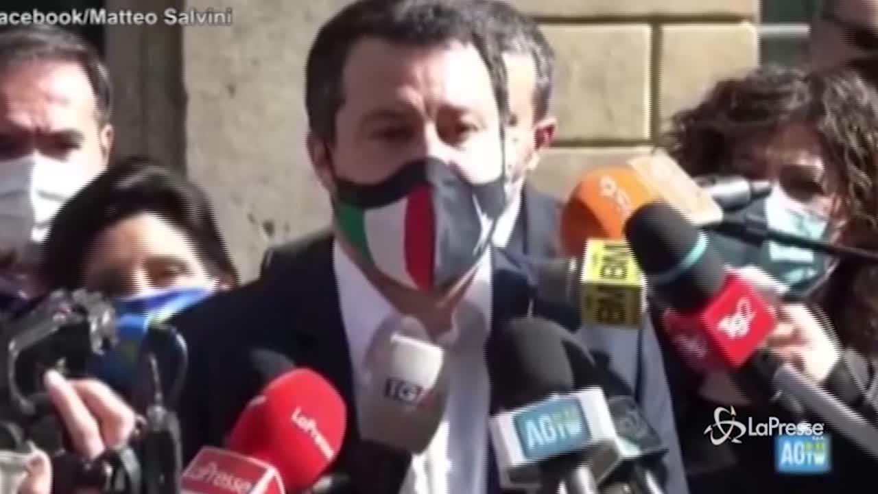 Salvini su chiusure Pasqua