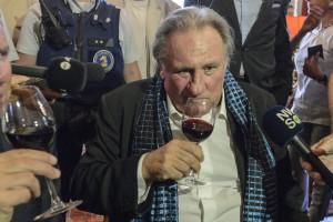 Gerard Depardieu riceve a Bruxelles la Medaglia della Città
