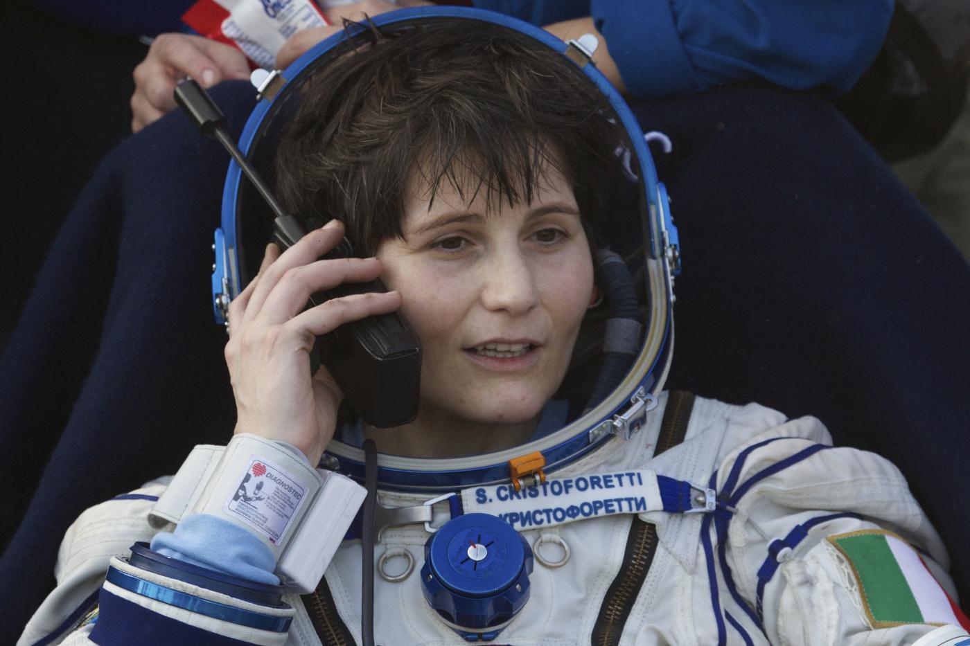 Samantha Cristoforetti. France ESA Recruiting Women