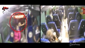 Rapine e furti a bordo di mezzi pubblici
