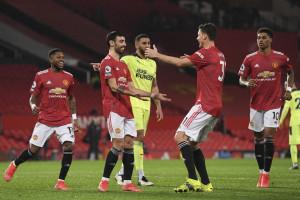 Manchester United's Bruno Fernandes