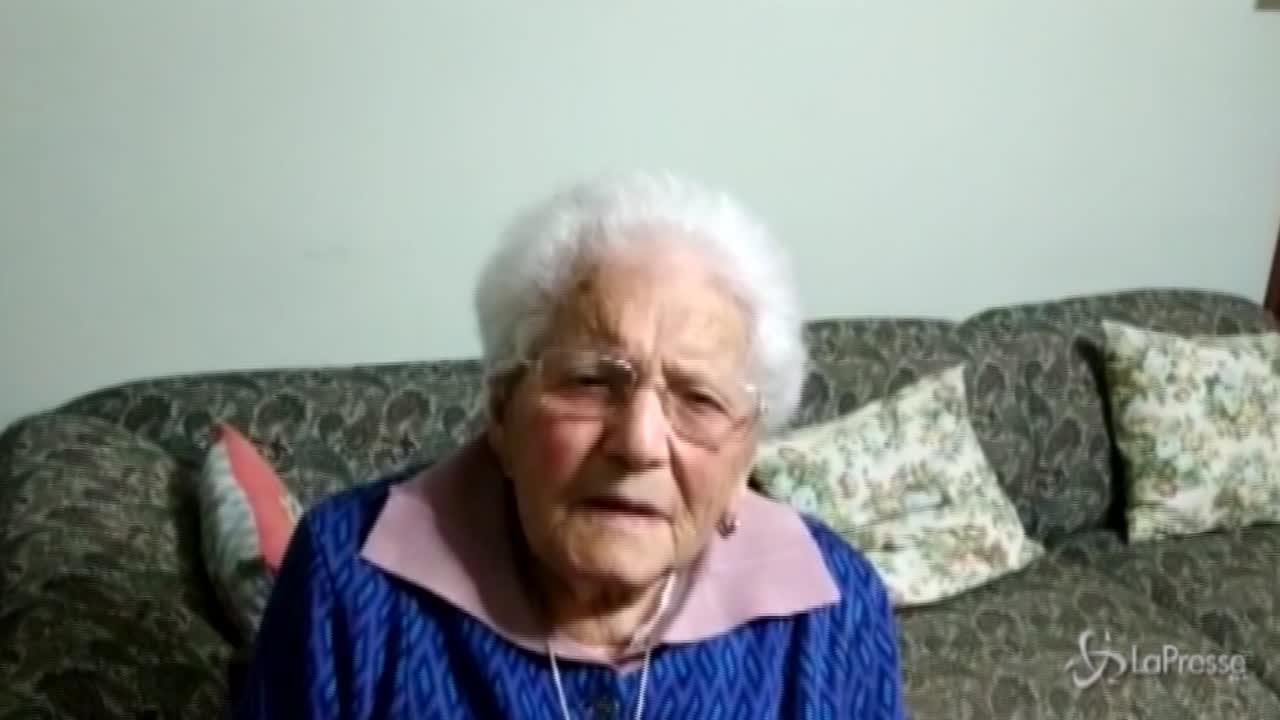 Nonna Cristina compie 101 anni