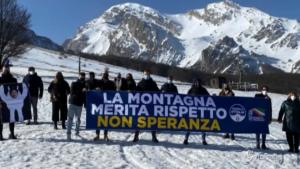FdI manifesta a sostegno degli operatori degli Appennini