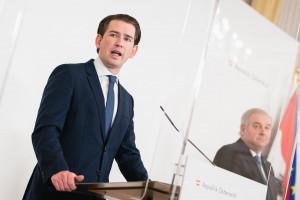 AUT, Bundesregierung, Pressekonferenz zu Oeffnungsschritten