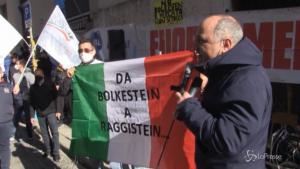 Protesta degli ambulanti a Roma