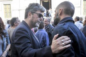 Roma, funerale del DJ Marco Trani