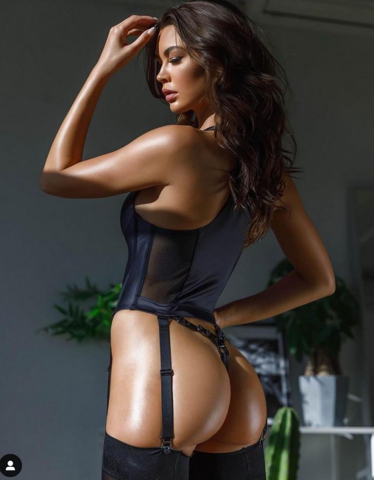 La modella Jessica Nazarenus (fonte Instagram)