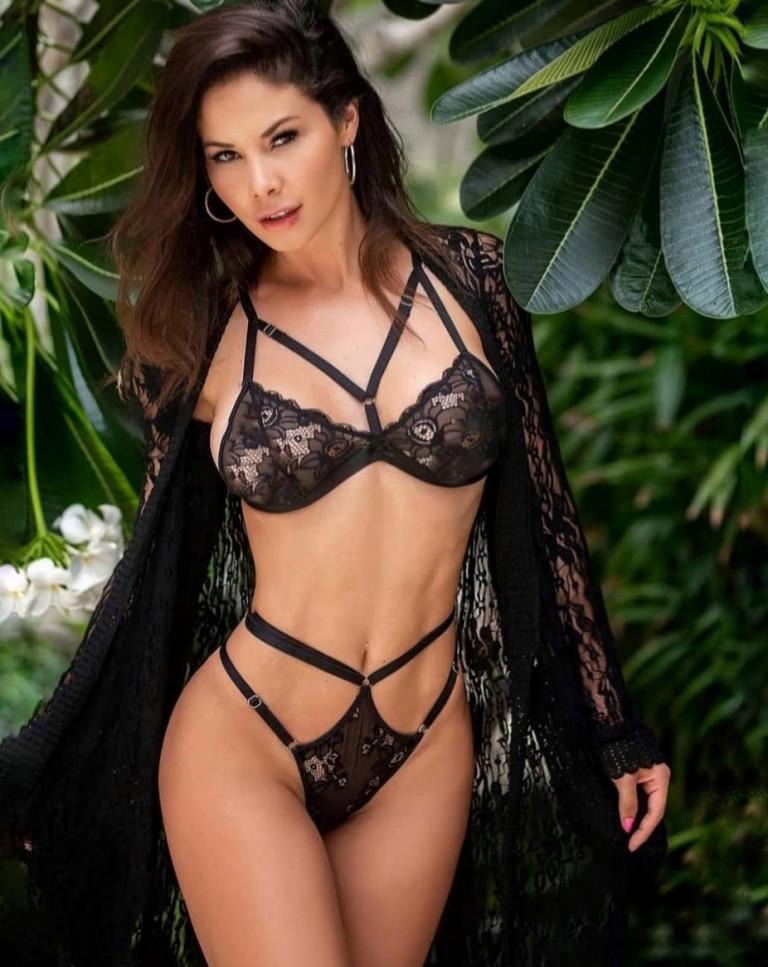 La fitness model Noelia Rios (fonte Instagram)