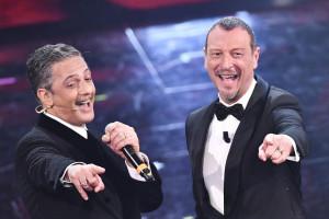 Fiorello e Amadeus, prima serata Sanremo 2021