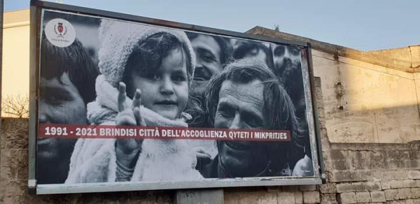 30 anni dall'esodo albanese
