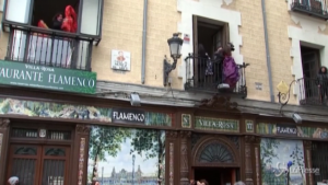 Bar di flamenco a Madrid
