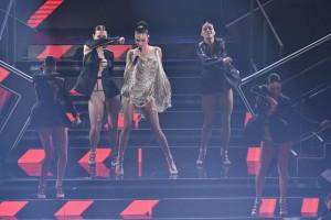 Elodie sul palco di Sanremo