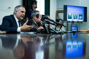 Isis, conferenza stampa Questura di Milano in merito agli arresti a Brescia