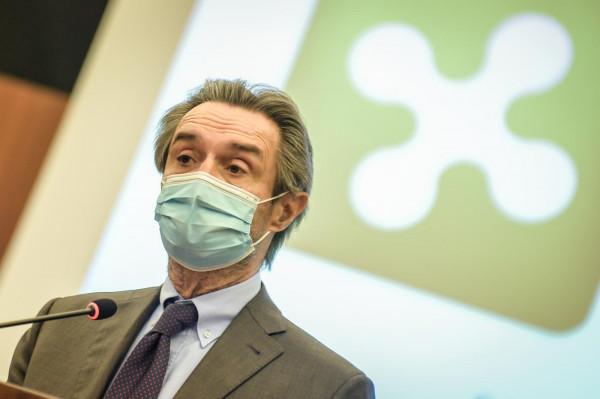Conferenza stampa sul piano vaccinale in Lombardia