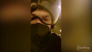 Ibrahimovic, autostop moto
