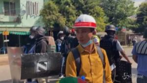 Proseguono le proteste contro il colpo di stato