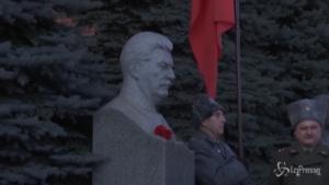 Militanti comunisti ricordano la morte di Stalin