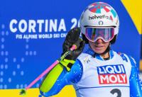 Bassino vince Coppa del Mondo di slalom gigante