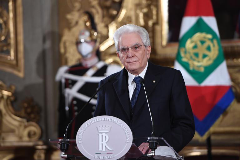 Quirinale - Dichiarazioni del Presidente della Repubblica Sergio Mattarella