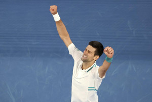 Tennis, Australian Open: trionfa Djokovic, Medvedev ko in finale