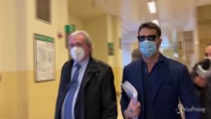 Fabrizio Corona in Tribunale a Milano