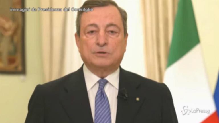 8 Marzo, Draghi