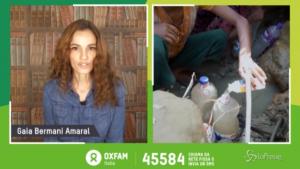 Oxfam, appello di Gaia Bermani Amaral