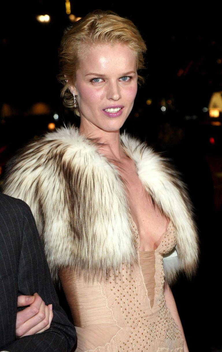 Eva Herzigova, New York 2003