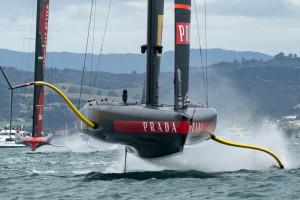 America's Cup, Luna Rossa e New Zealand tornano in acqua: fattore vento decisivo